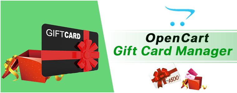 OpenCart Gift Card module