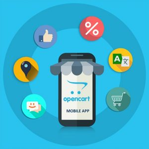 Mobile app Opencart plugin