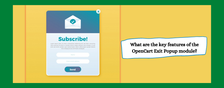 OpenCart Exit Popup module Knowband