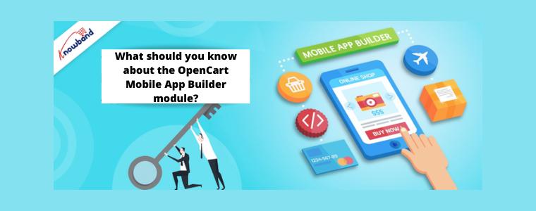 OpenCart Mobile App Builder Knowband