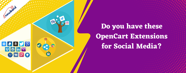 Do you have these OpenCart Extensions for Social Media?